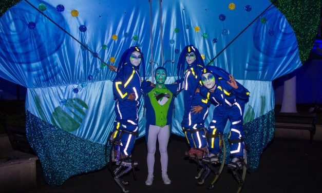 La noche Azul.  CORFESCU Bucaramanga