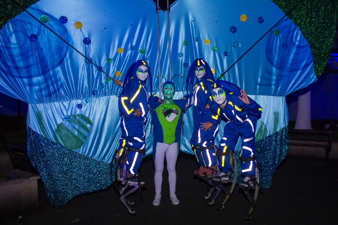 Teatro Corfescu La noche azul