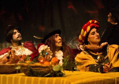 Obra: El Quijote. Grupo: Teatro La Candelaria