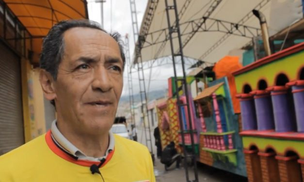 Felipe Segundo Eraza,  Maestro Artesano del Carnaval del Pasto