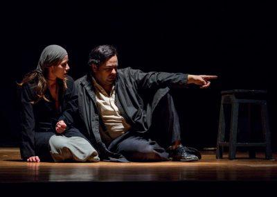 Obra: Crimen y castigo. Grupo: Teatro Libre