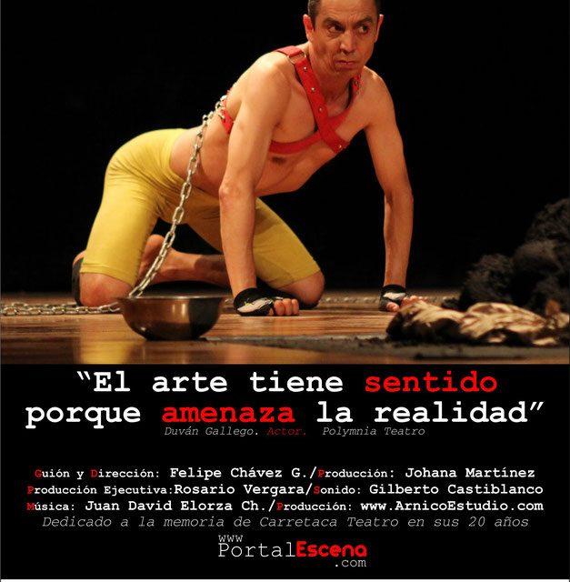 ¿Por qué no? Documental polifónico sobre el teatro en Colombia