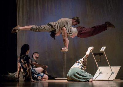 Grupo:  La Gata cirko. Obra:  Las raíces flojas