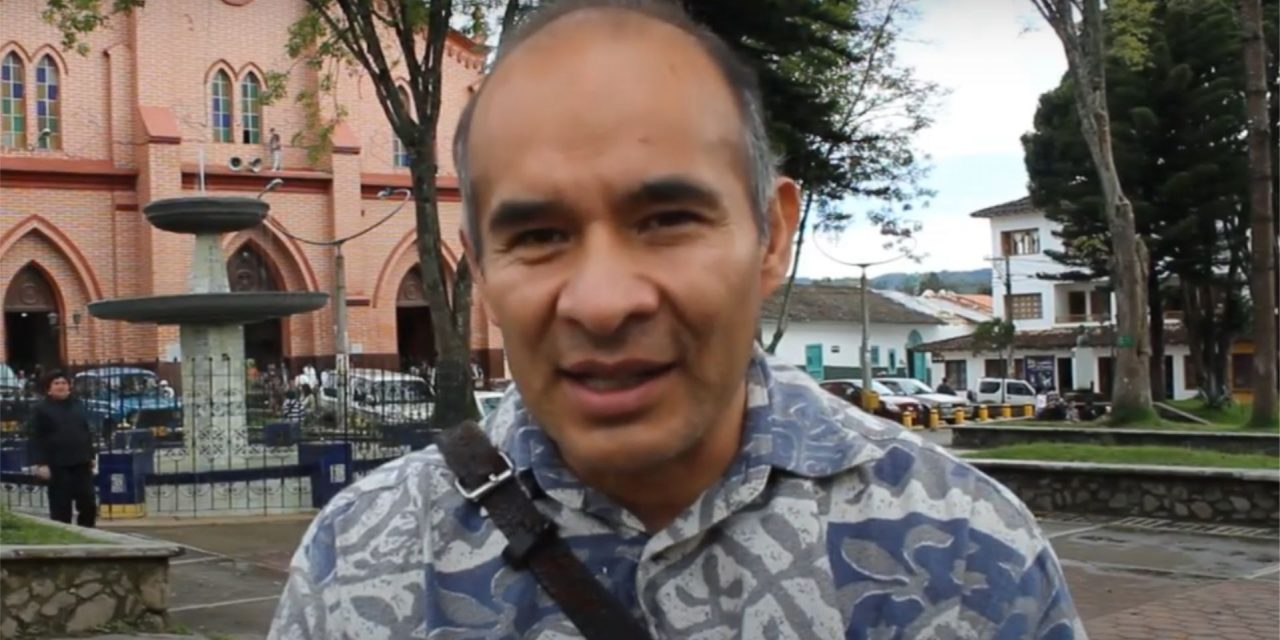 Personaje: Ivan Nogales Bazan. Grupo: Teatro Trono. País: Bolivia