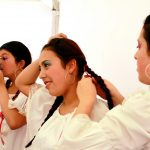 Bailarines Fundación Cultural Tea Tropical